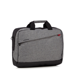 "Craghoppers Quarry grey 17"" commuter laptop bag"