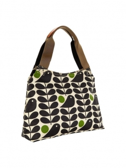 Orla Kiely Classic Zip Shoulder Bag