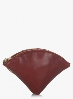 Lily Moroco Maroon Waist Pouch