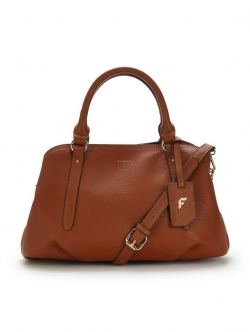 Primrose Compartment Tote Bag - Tan