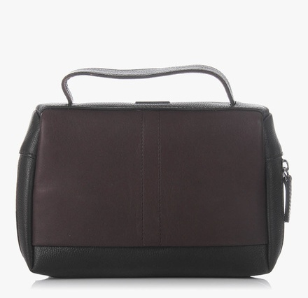 ADAMIS Brown Leather Waist Pouch