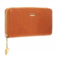 Fiorelli City Zip Around Purse-Tan