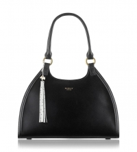Radley Ormond Tassel Detail Shoulder Bag- Black