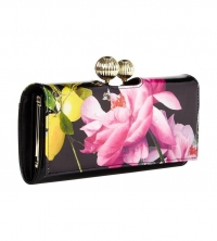 Ted Baker Citrus Bloom Leather Purse