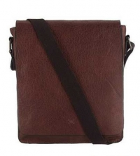 Handmade vintage leather tablet bag