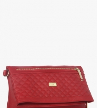 Satya Paul Red Clutch